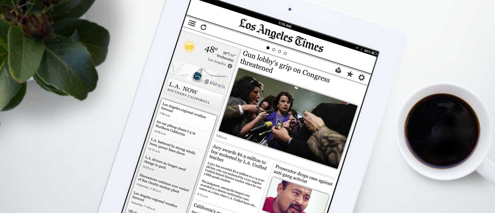 LA Times for iOS
