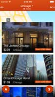 Viewing hotels in Chicago